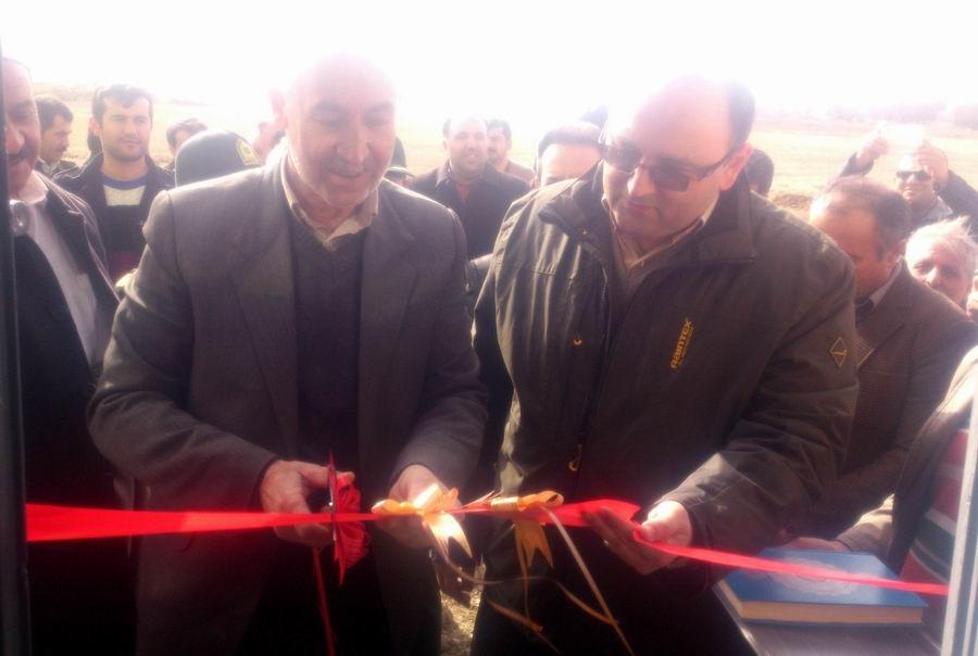 ایستگاه پمپاژ آب کشاورزی روستای نساره علیا به بهره برداری رسید