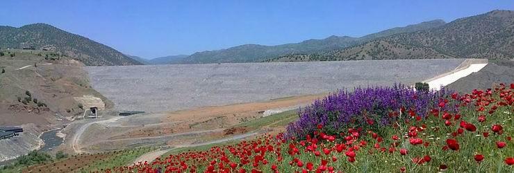 Garan Dam, Marivan